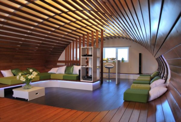 Идеи за мансарда спалня