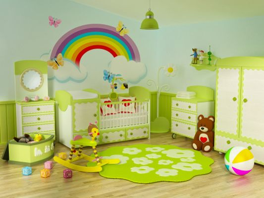 Обзавеждане на детска стая по фън шуй съвети