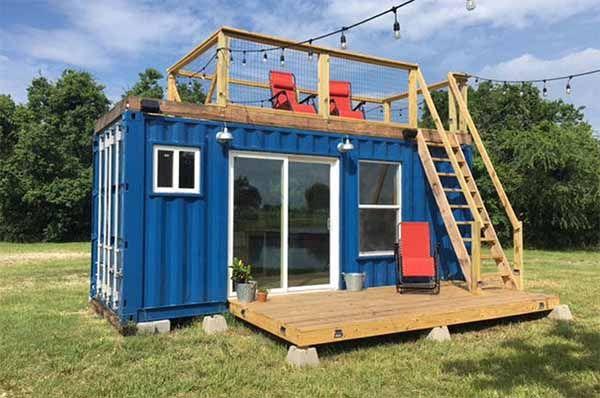 Къщи от контейнери - контейнери за живеене проекти, съвети, обзавеждане