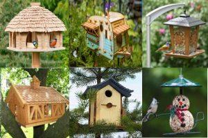 За животните, с любов: Направи си сам хранилки и къщички за птици  (Оригинални идеи)