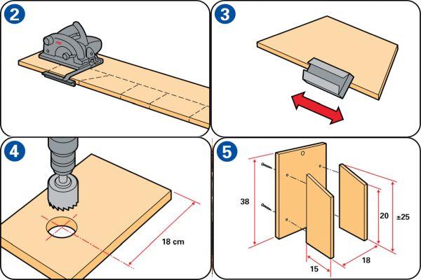 Как се прави къщичка за птици стъпка по стъпка