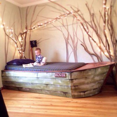 Направи си сам легло лодка