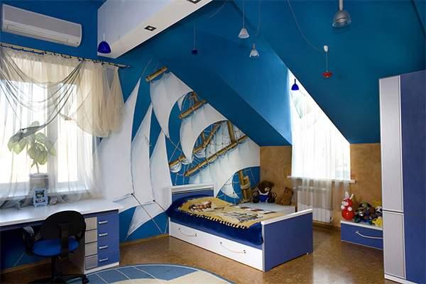 Морска детска стая и идеи за обзавеждане на детска стая в морски стил