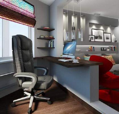 Кабинет в хола – как да обзаведен идеалният офис у дома
