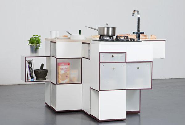 Модерна смарт кухня Каре