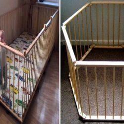 Направи си сам: Бебешка кошара за игра
