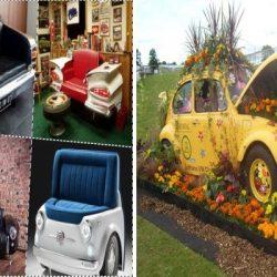 Идеи за неща от стари коли