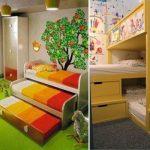 Детска стая за трима – как да подредим леглата и още идеи в името на общия комфорт