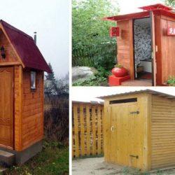 Външна тоалетна: Как се прави и поддържа WC на място без централна канализация