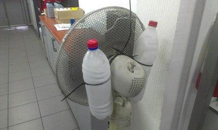 Направи си сам климатик с бутилки и вентилатор