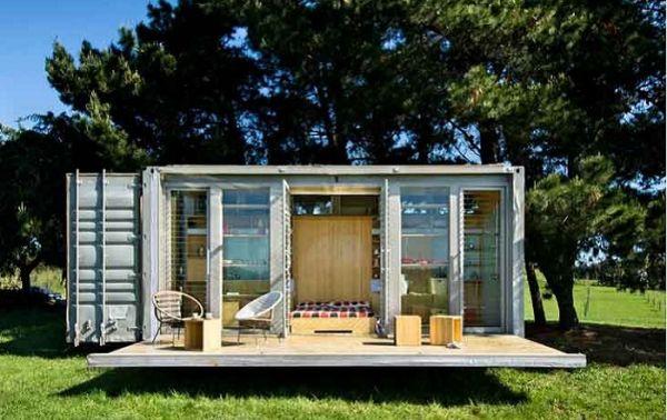 Идеи за евтини къщи от контейнери