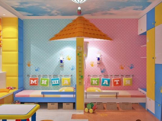 Зониране на детска стая идеи