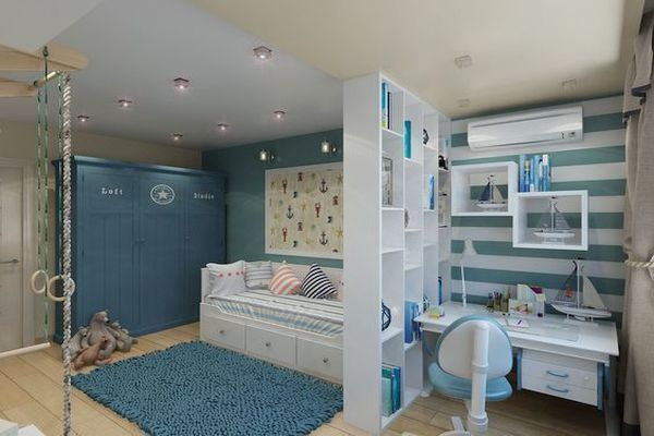 Зониране на детска стая: Основни правила и препоръки