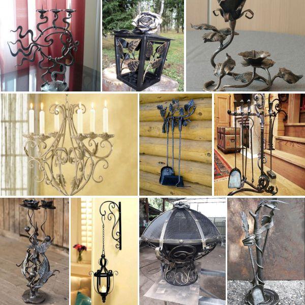 100 идеи от ковано желязо за декор в интериора