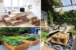Невероятни идеи от палети: Не от нищо – нещо, а екстравагантни решения за дома