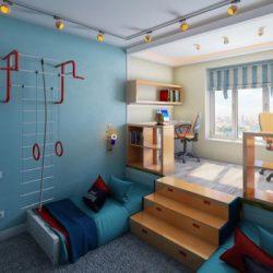 Идеи детска стая за две момчета братя