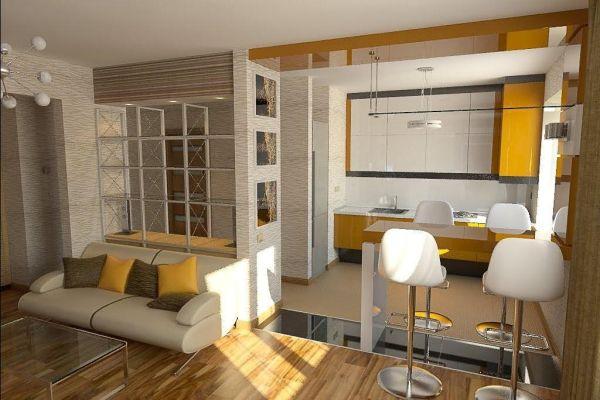 Кухня с (или в)коридор: Предизвикателство, но и идеално решение за малък апартамент!