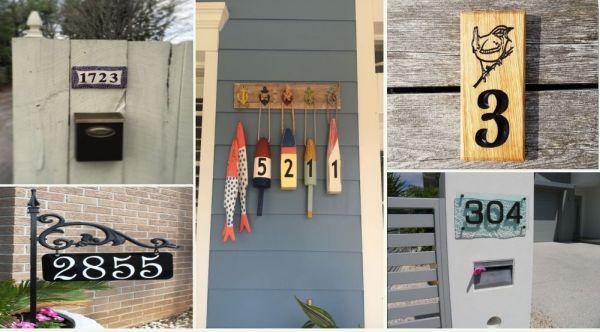 Идеи за табелка с номера на улицата: Да бъдеш оригинален, докато си част от общността