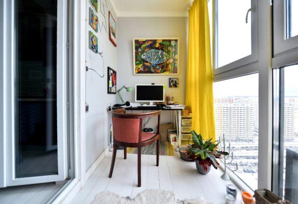 Дизайна на балкона, който го превръща в допълнителна стая