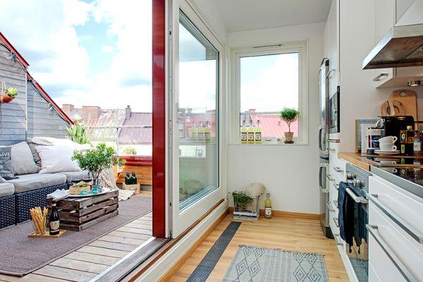 Дизайнът на балкона, който го превръща в допълнителна стая