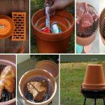 Направи си сам: Скара, хладилник  и други домакински уреди от керамични саксии