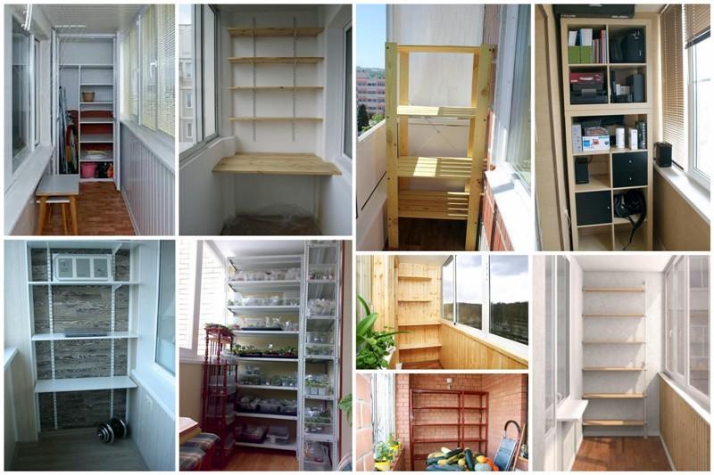 Съвети за съхранение неща на балкона