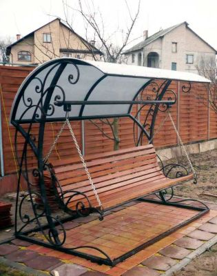 Люлки за градината идеи