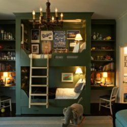 Спалня за голямо семейство с малко пространство