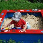 Направи си сам детска площадка: Пясъчник