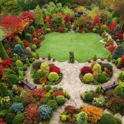 Оформяне градината по Фън Шуй