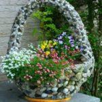 Декорация за градина от речни камъни
