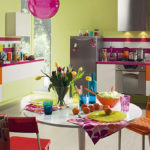 Цвят за кухня: Ярки идеи и традиционни съчетания