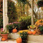 Свежи идеи за есенна декорация на градината