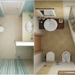25 примера за впечатляващо обзавеждане на малка баня