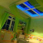 Окачени тавани за детски стаи: Идеи и съвети при избора