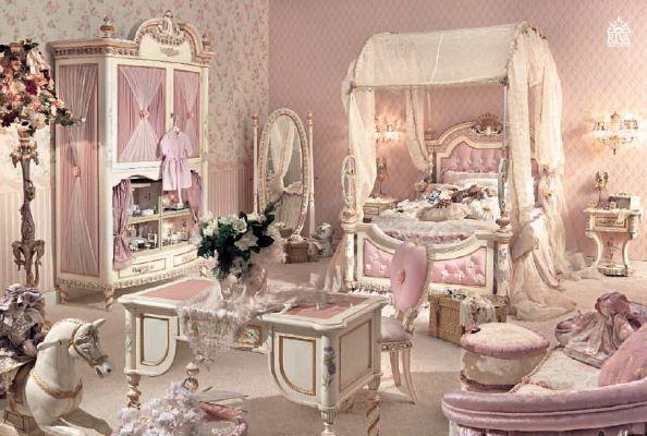 Детска стая в бароков стил идеи