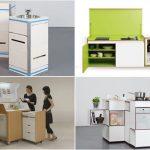 Компактна кухня за наистина малък апартамент – модерно, удобно и всичко необходимо