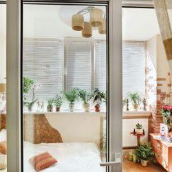 Идеи за Спалня на балкона – голяма възможност за малък апартамент