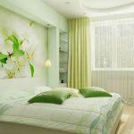 Зелена спалня – необичайно, но страхотно решение